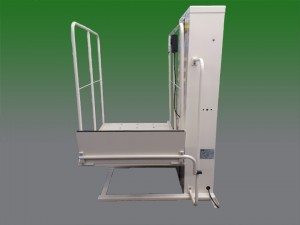 Phoenix ca wheelchair lift vpl vertical platform porchlift macs